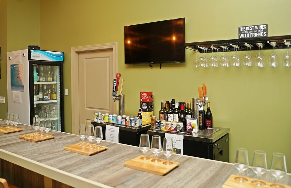 Wine Bar Counter